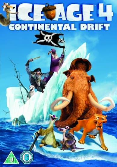 عصر یخبندان Ice Age Continental Drift 2012 دوبله فارسی