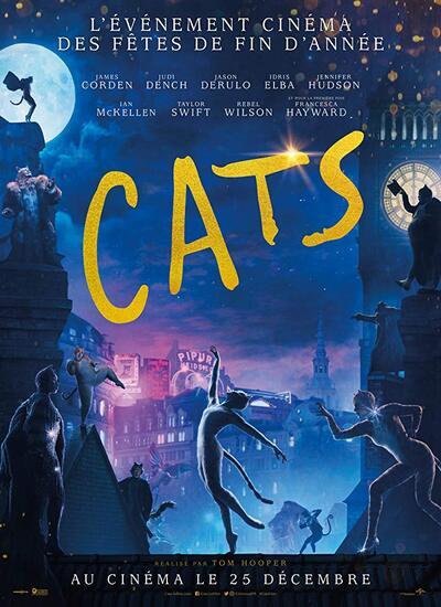 دانلود فیلم گربه ها Cats 2019 بهمراه دوبله فارسی