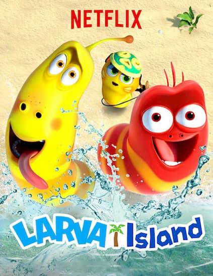دانلود انیمیشن جزیره لارو دوبله فارسی The Larva Island Movie