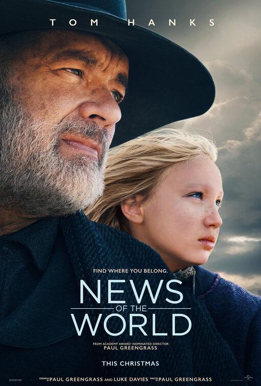 دانلود فیلم اخبار دنیا News of the World 2020 با دوبله فارسی