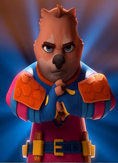 انیمیشن وامبت قهرمان