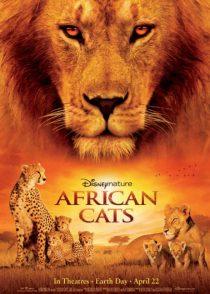 دانلود فیلم گربه های آفرقایی African Cats 2012