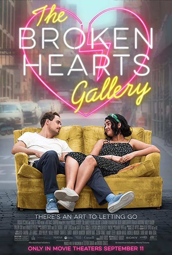دانلود رایگان فیلم The Broken Hearts Gallery