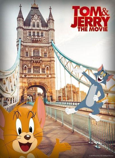 دانلود فیلم Tom and Jerry 2021 بهمراه دوبله فارسی